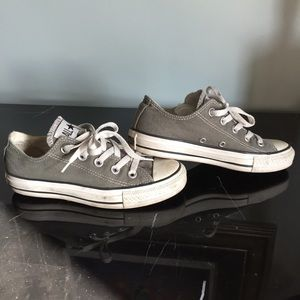 Taupe Converse